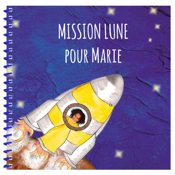 Livre personnalisé pour un enfant : Mission Lune
