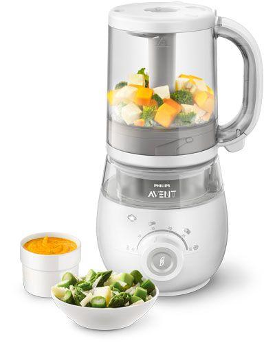 Robot cuiseur-mixeur 4 en 1 pour bébé SCF875 AVENT-PHILIPS