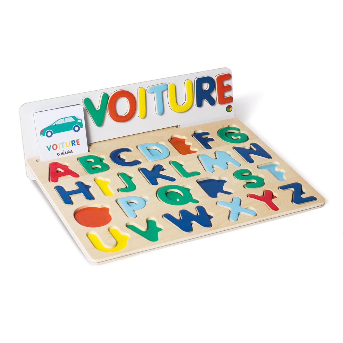Puzzle ABC magnétique