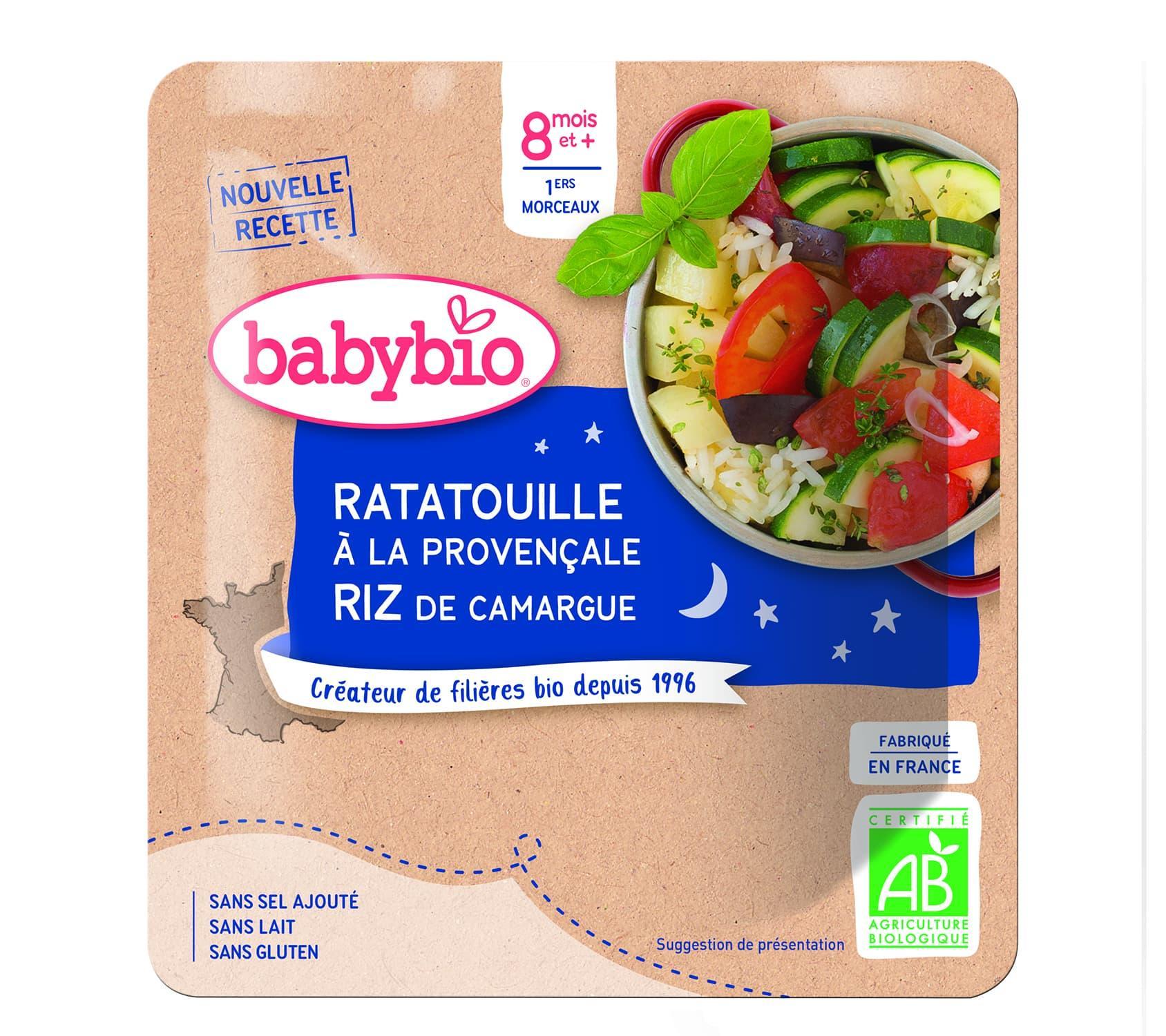 Bonne Nuit Ratatouille à la Provençale & Riz de Camargue