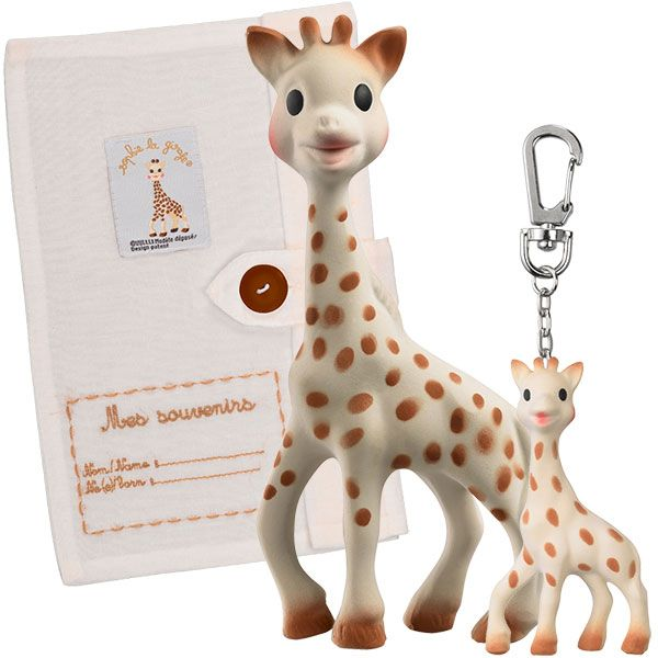 Coffret prestige so pure sophie la girafe