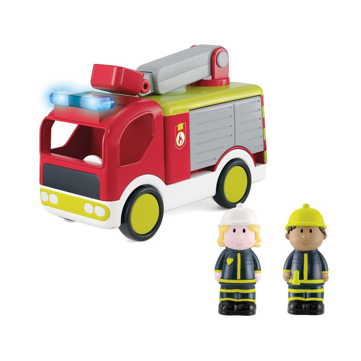 Le camion de pompier sonore