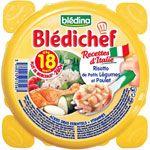 BLEDICHEF Risotto de petits légumes et poulet 260 g dès 18 mois BLEDINA