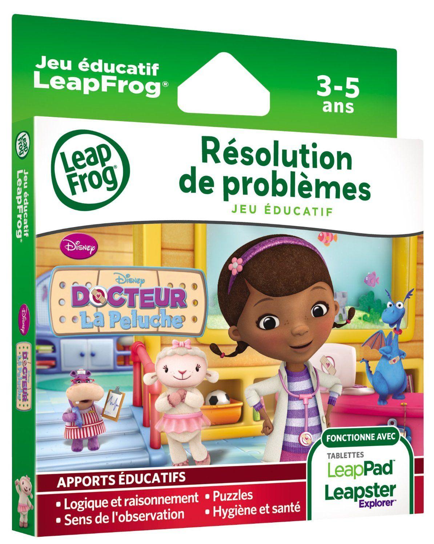 Jeu éducatif LeapPad / Leapster : Docteur la Peluche