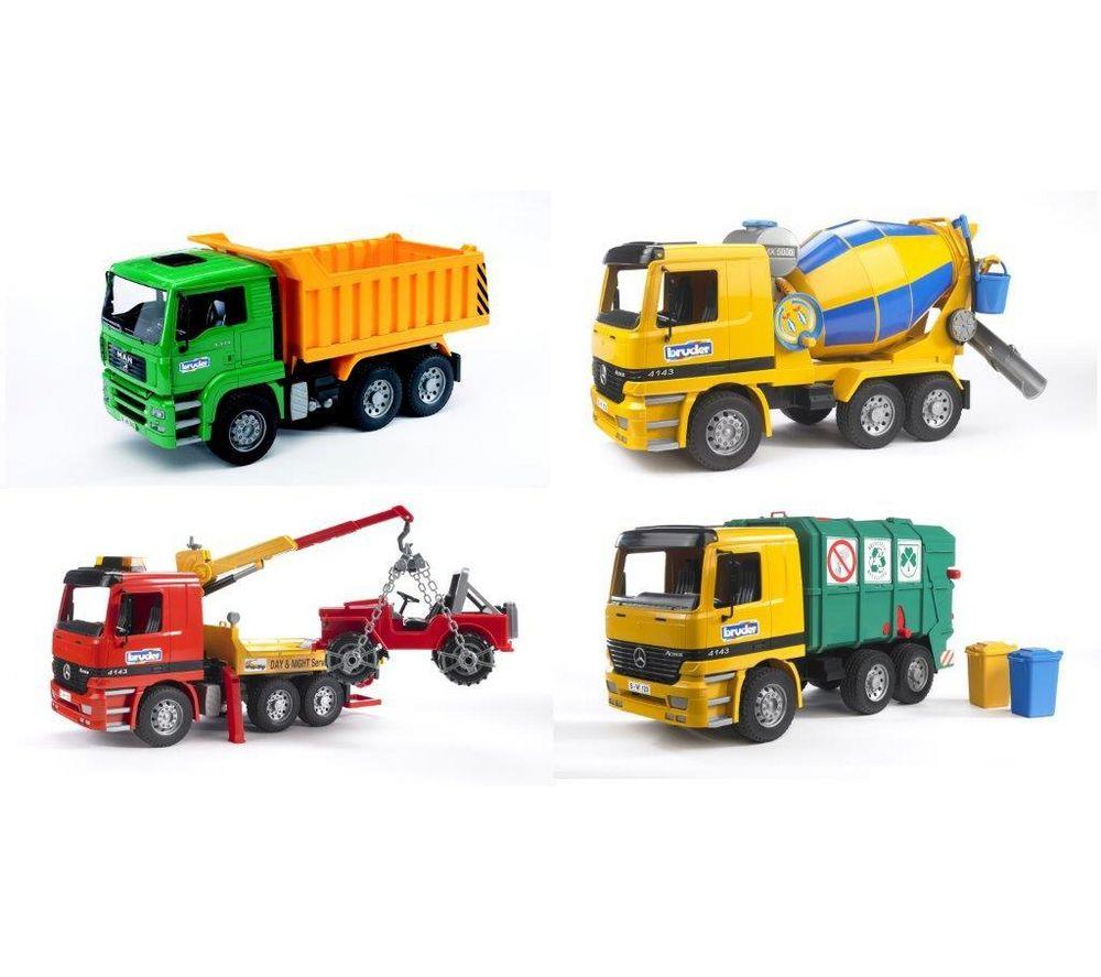 Véhicule miniature : Camion benne / béton / dépannage / poubelle