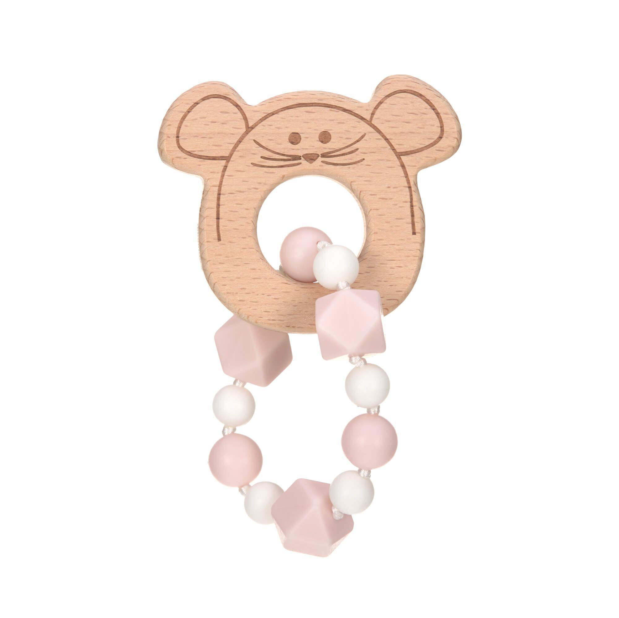 Bracelet de dentition Little Chums Souris