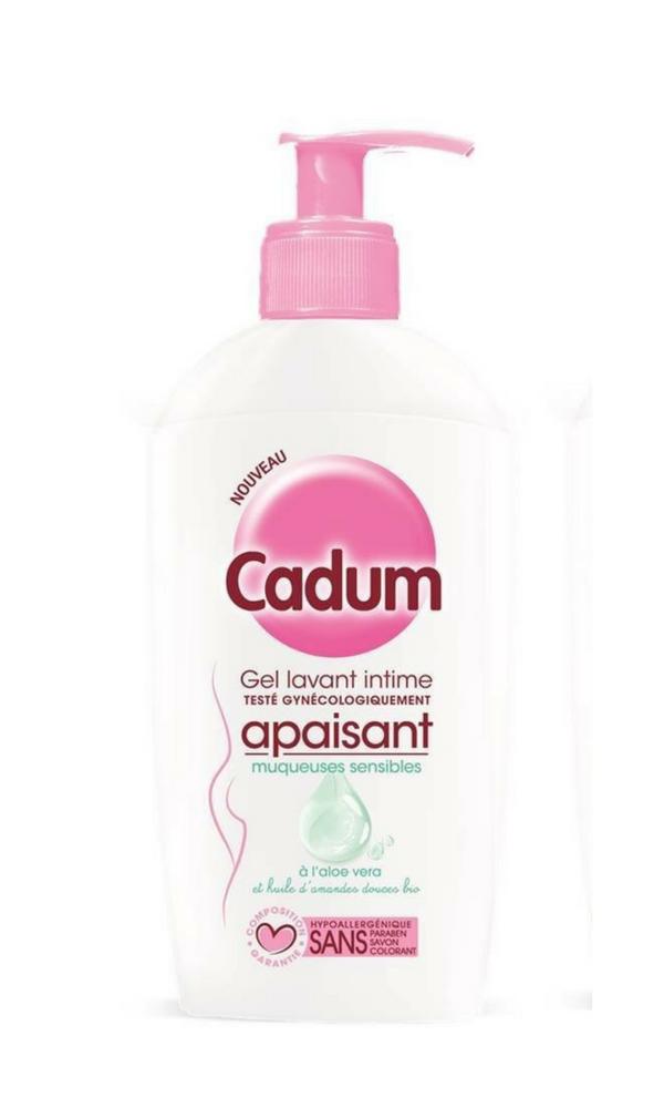Gel lavant intime apaisant muqueuses sensibles CADUM