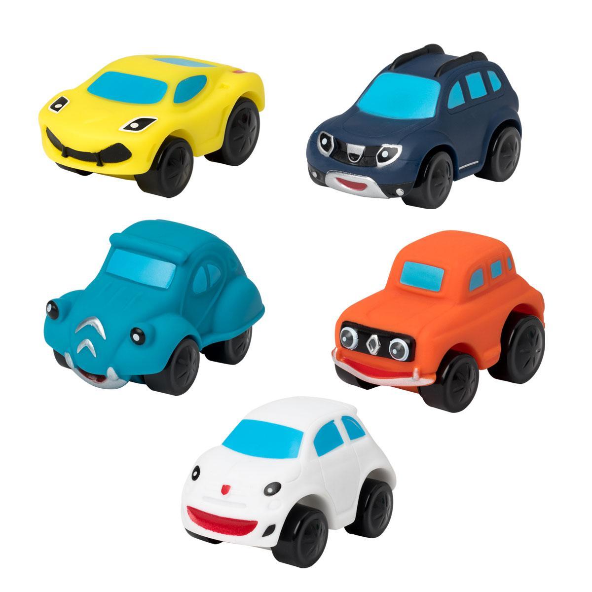 Set de 5 voitures