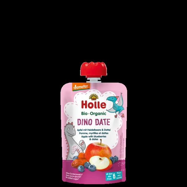 Dino Date - Gourde pomme, myrtilles et dattes