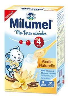 Mes 1ères céréales infantile Milumel - Vanille naturelle LACTEL