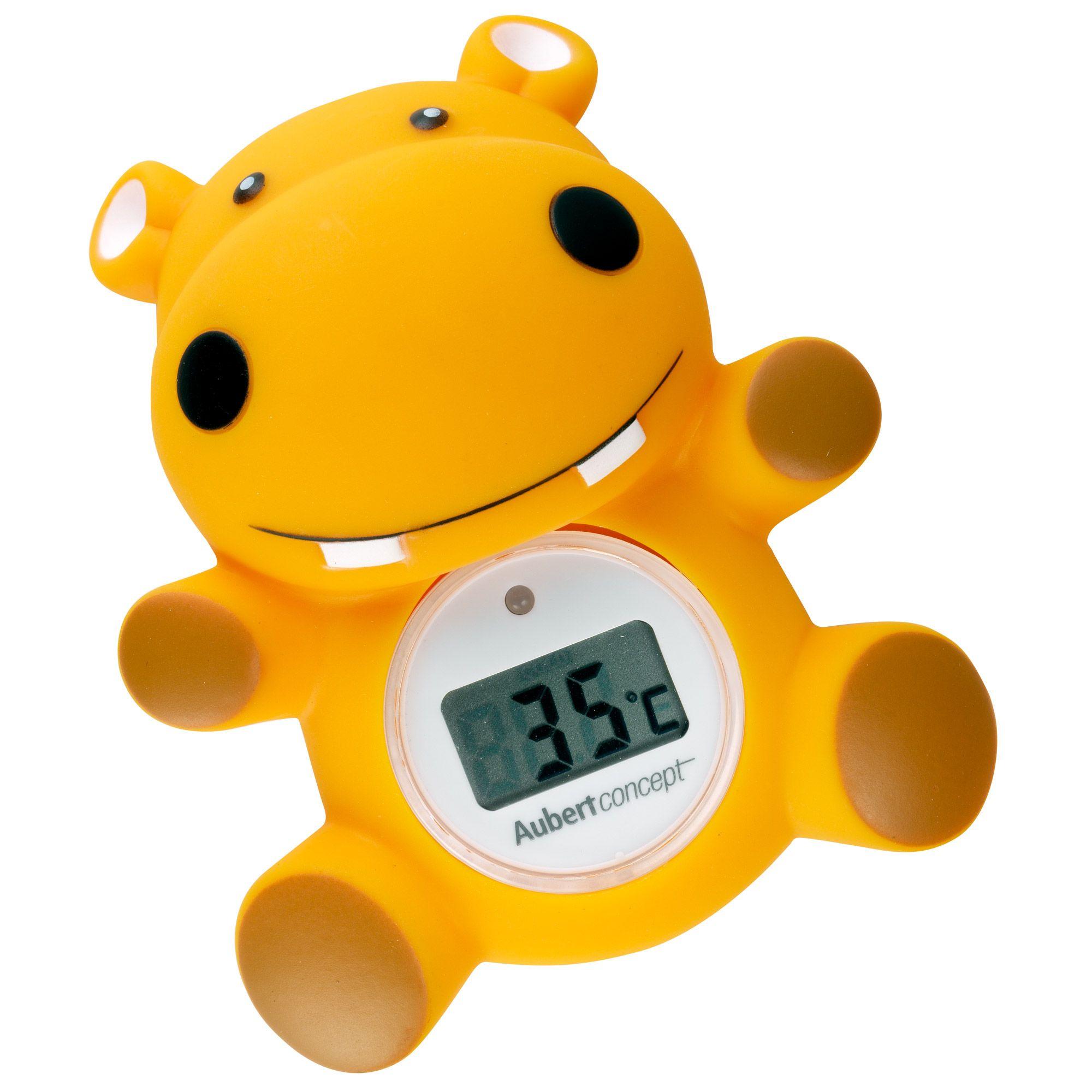 Thermomètre de bain Hippo