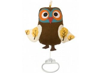 Peluche musicale Owl