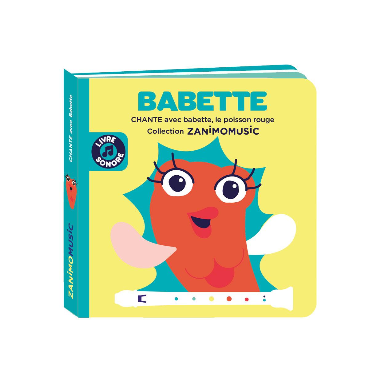 Chante avec Babette, le poisson rouge