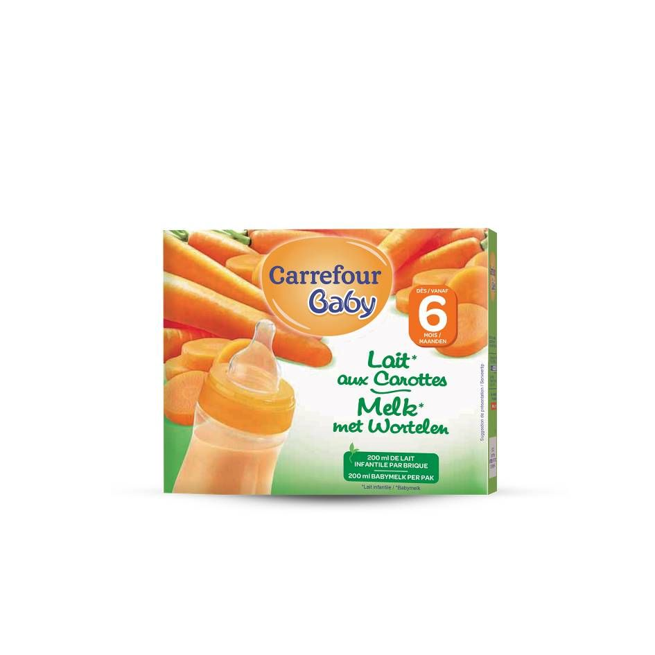 Lait aux carottes