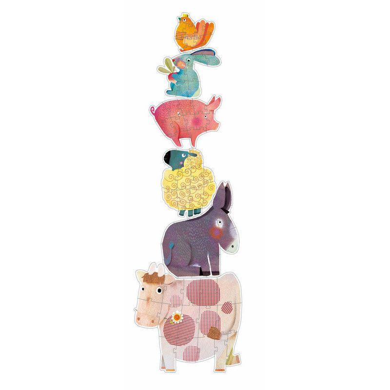 Puzzle géant évolutif Pissenlit et ses amis