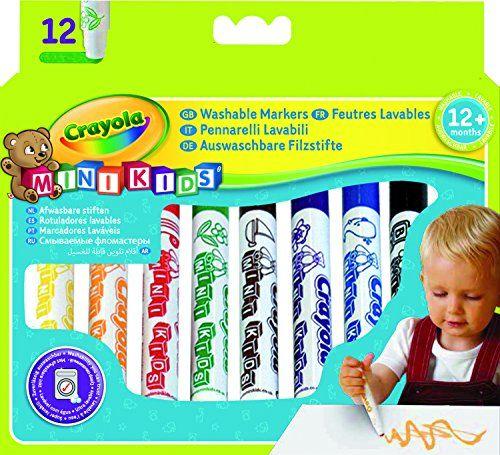12 feutres lavables Mini Kids CRAYOLA