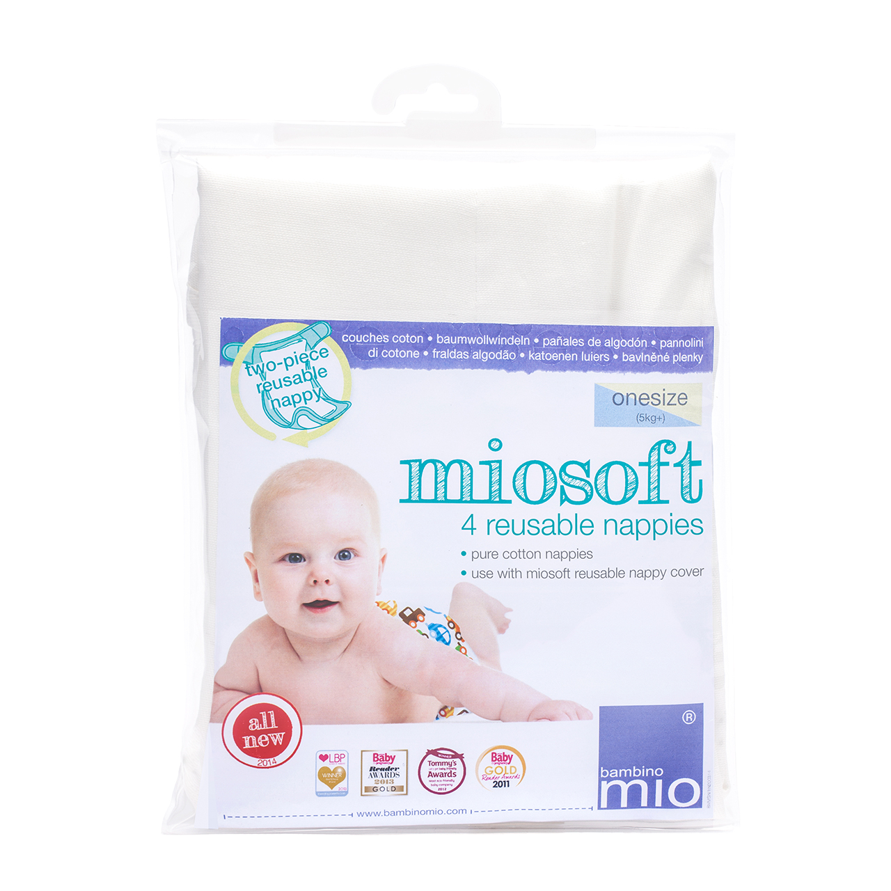 Miosoft couche lavable BAMBINO MIO