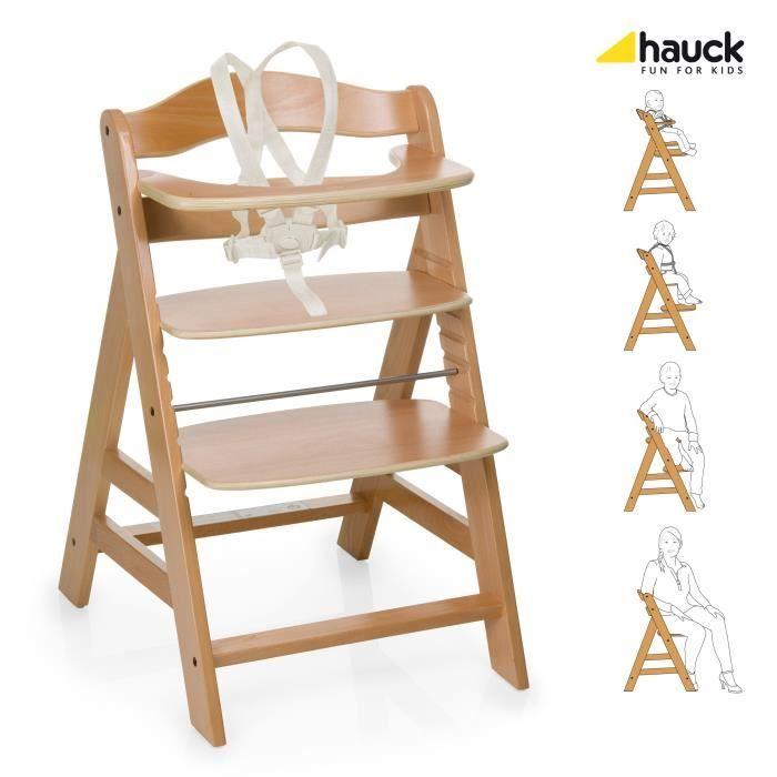 Chaise haute évolutive Alpha HAUCK