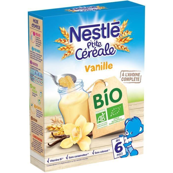 P'tite Céréale Bio Vanille NESTLÉ