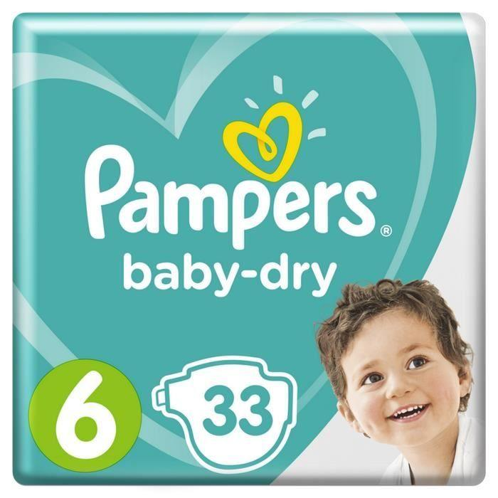 Couches Baby Dry taille 6