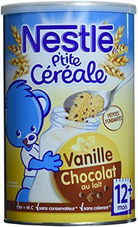 P'tite céréale chocolat au lait-vanille
