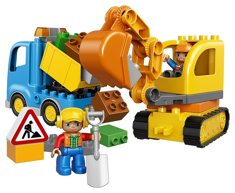 Duplo - Le camion et la pelleteuse LEGO