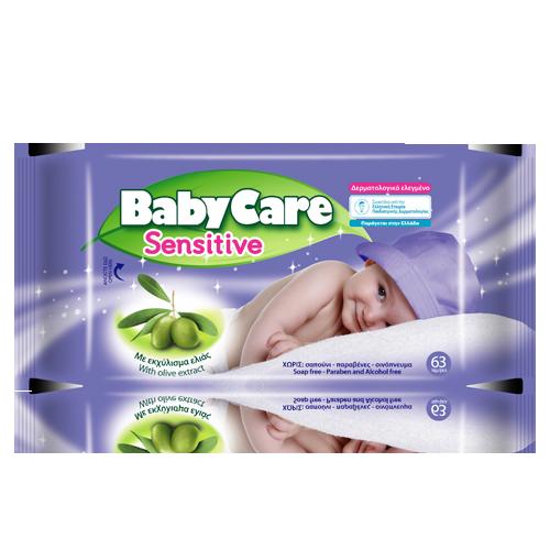Lingettes Babycare Sensitive