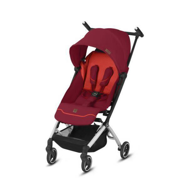 Poussette compacte POCKIT+ All City Fashion Edition Rose Red GB