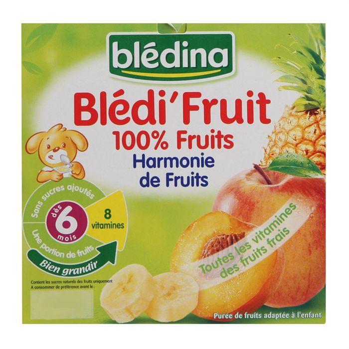 Blédi'Fruits Harmonie de Fruits BLEDINA