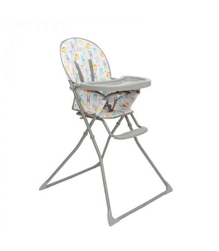 Chaise haute compacte