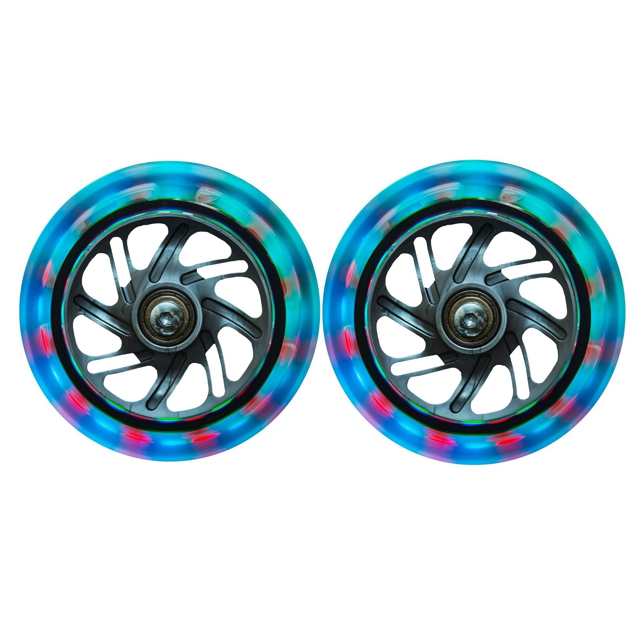 Set de 2 roues lumineuses