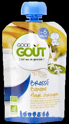 Good gourde Brassé banane et fleur d'oranger