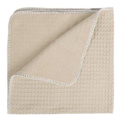 Couverture en coton gaufré