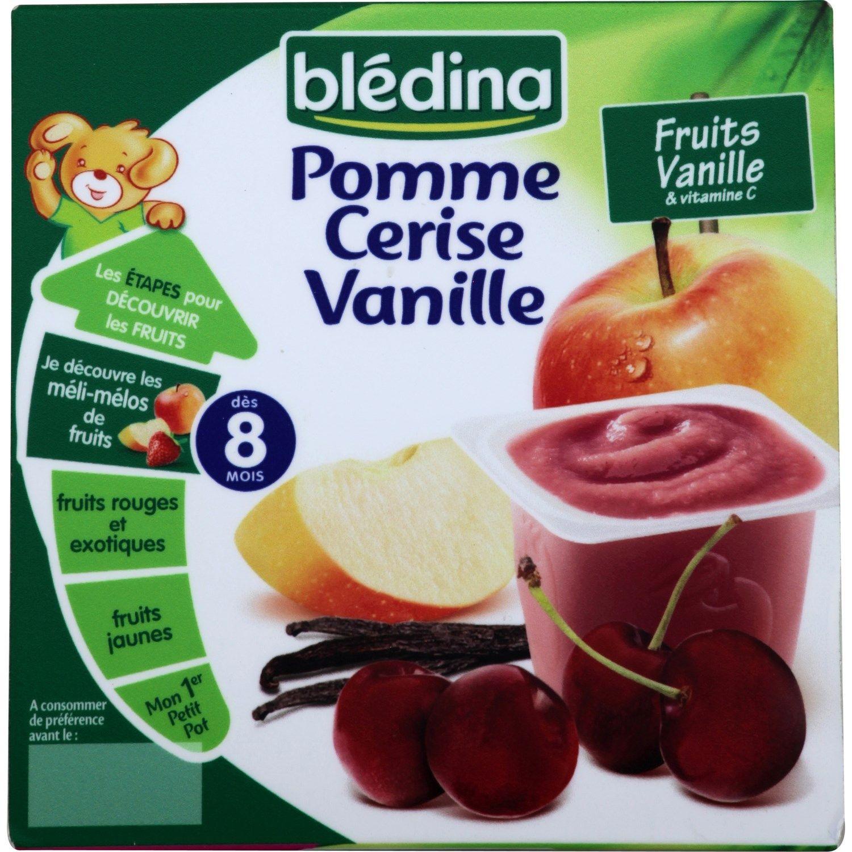 Coupelle de fruits Pomme Cerise Vanille