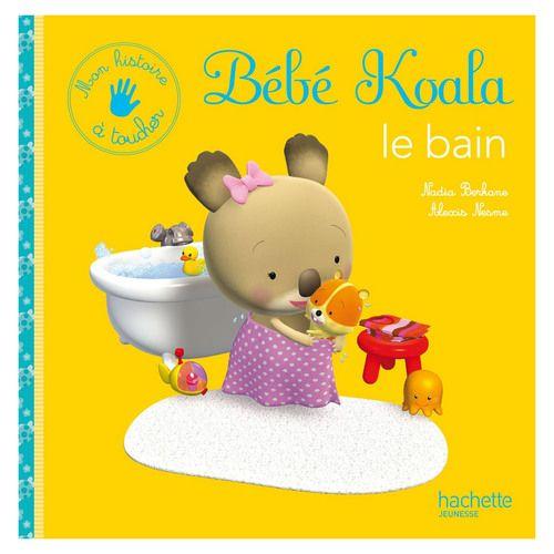 Bébé Koala le bain