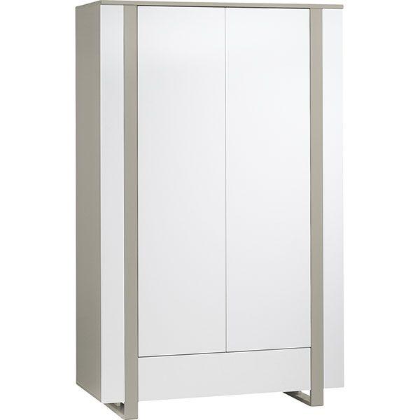 Armoire 2 portes 1 tiroir Light