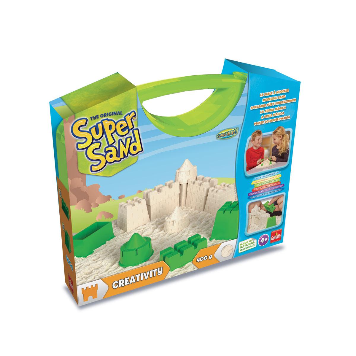 Valisette de sable à modeler Super Sand