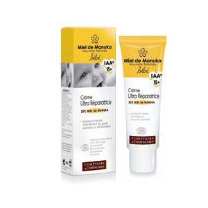Crème Ultra Réparatrice Bébé Bio 20% MIEL DE MANUKA IAA®15+