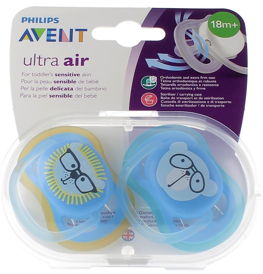 Sucettes Ultra Air 18+ Garçon