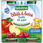 BLEDI A BOIRE Pommes framboises 2x20 cl dès 4 mois