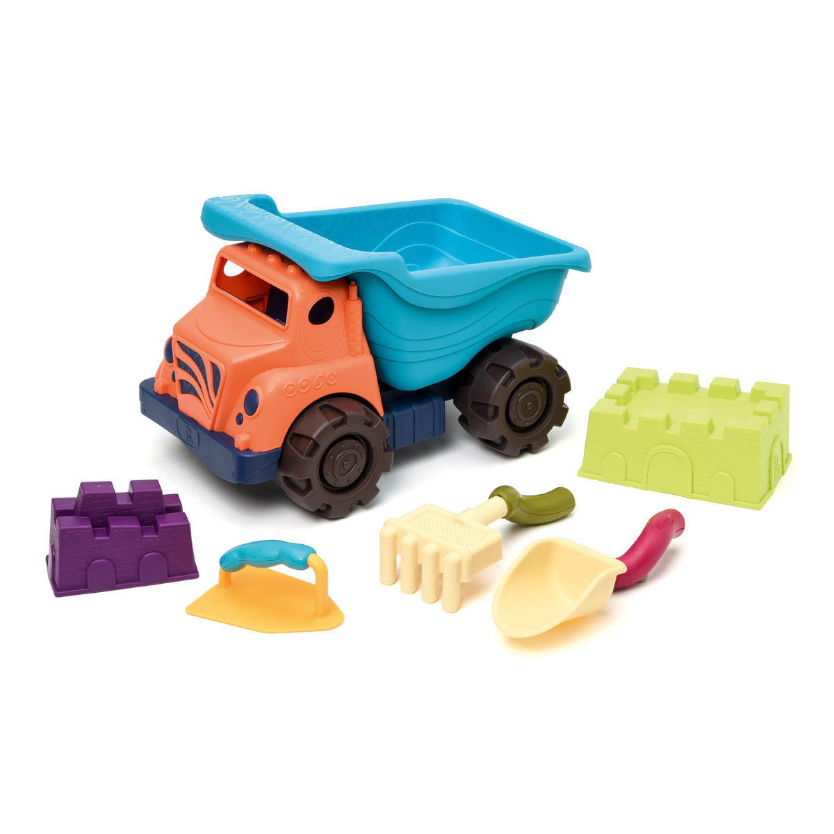 Camion de plage garni