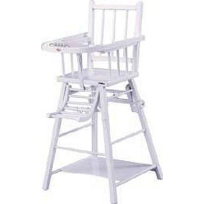 Chaise Haute transformable laqué