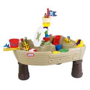 Table d'activités pirate