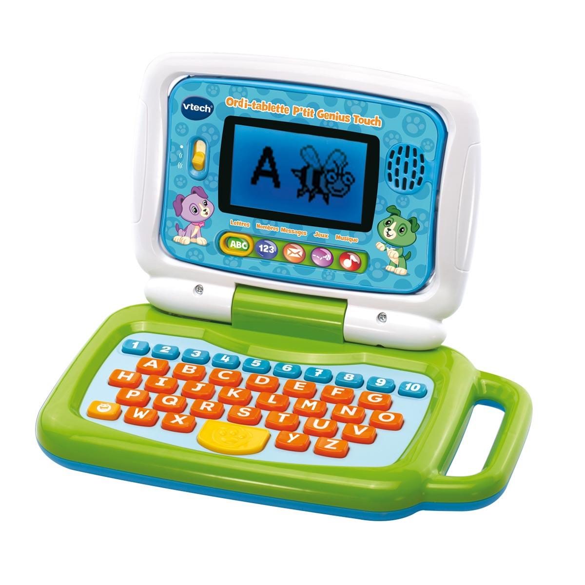 Ordi tablette P'tit génius touch VTECH