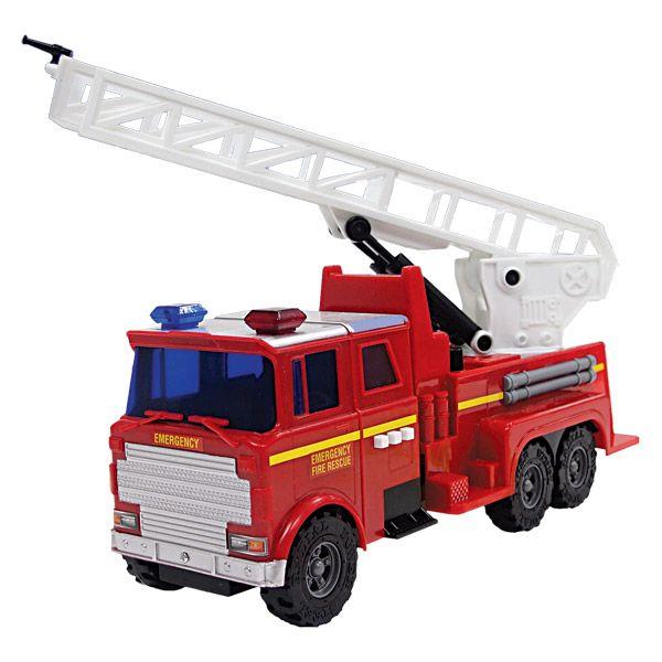 Camion pompier sonore+ Les autres véhicules + Logitoys
