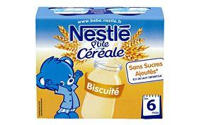 P'tite Céréale Biscuité 2x250ml NESTLÉ