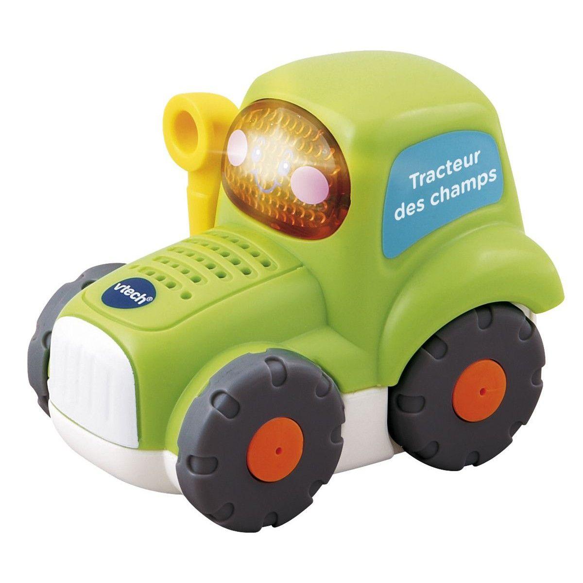 Tut Tut Bolides - Gaétan tracteur des champs