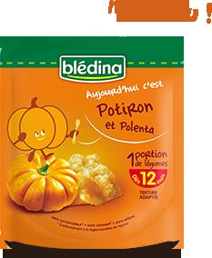 Aujourd'hui c'est : Potiron et polenta