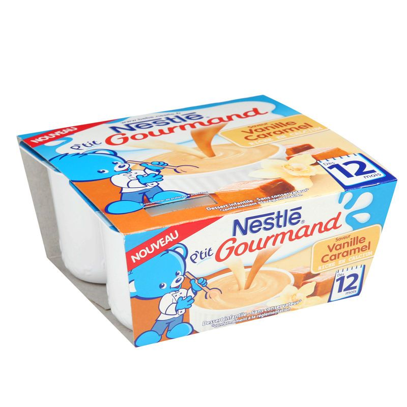 P'tit Gourmand Vanille - Caramel NESTLÉ