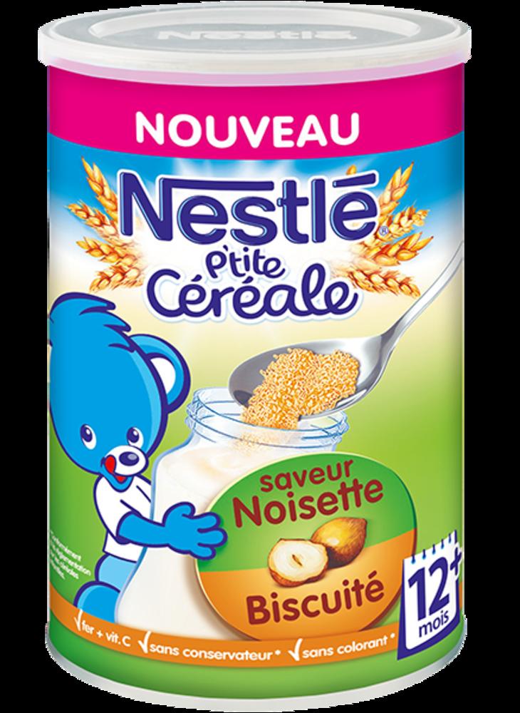 P'tite Céréale Noisette-Biscuité NESTLÉ